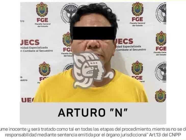 Detienen en Coatzacoalcos a presunto secuestrador de Chiapas