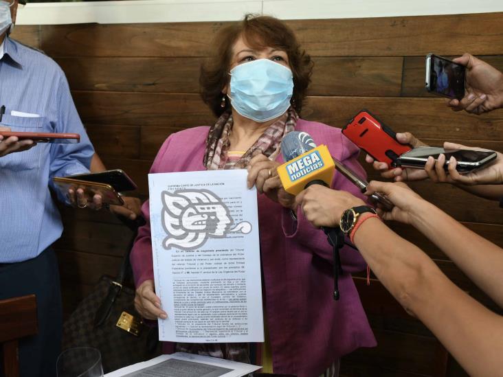 Magistrados buscan tumbar a Presidenta del Poder Judicial de Veracruz