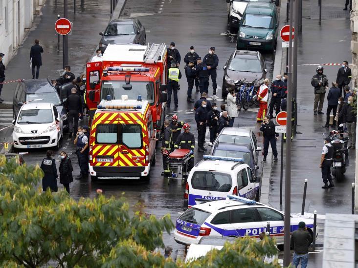 Dos heridos tras ataque en calles de París; un detenido