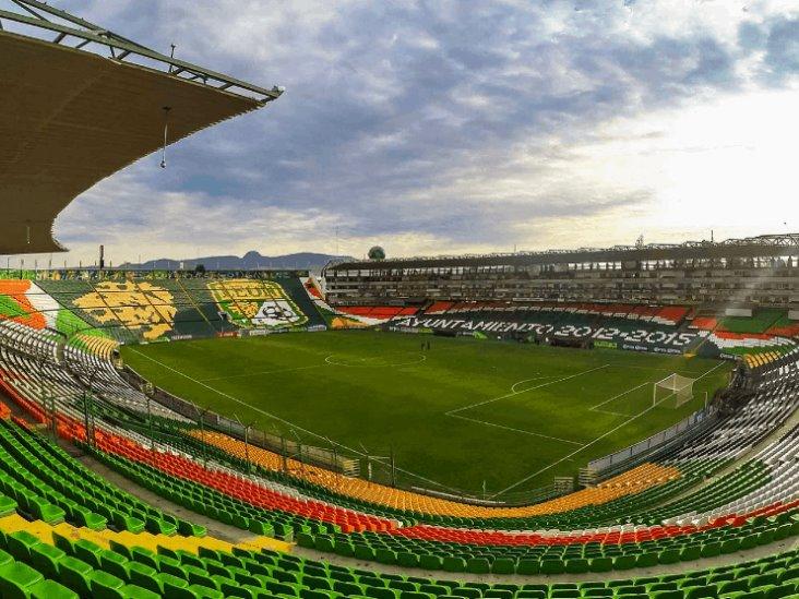 León reportó incendio provocado por una persona en su estadio