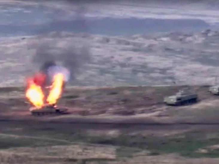 Estallan combates entre Armenia y Azerbaiyán