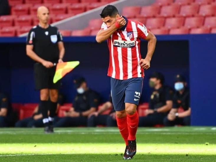 Luis Suárez debutó con doblete en Atlético de Madrid