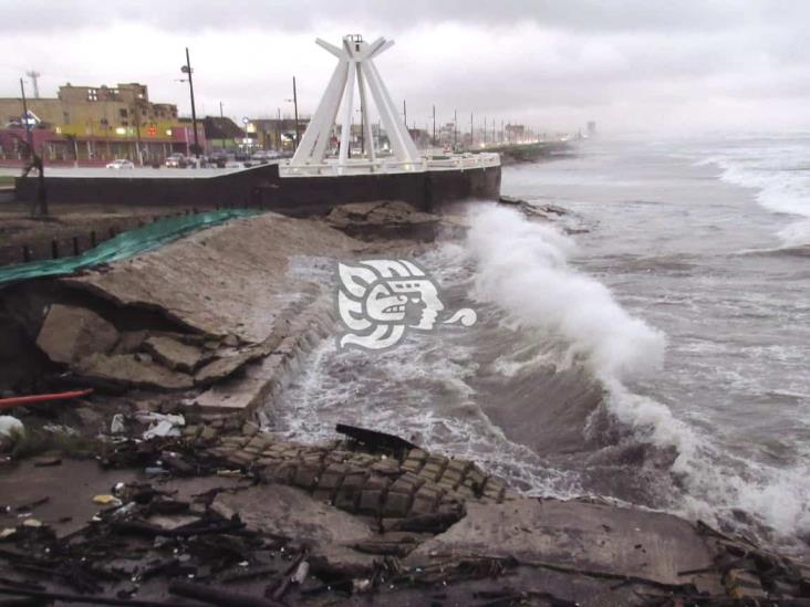 Emiten Alerta Gris en Coatzacoalcos por ingreso del Frente Frío 4
