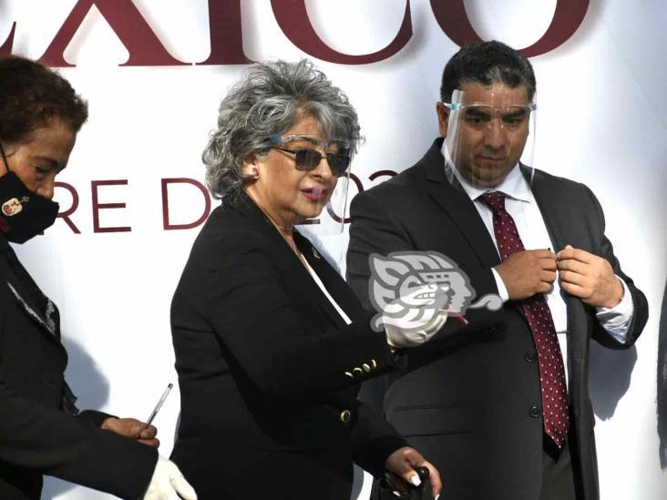 Evade titular del Poder Judicial preguntas sobre corrupción