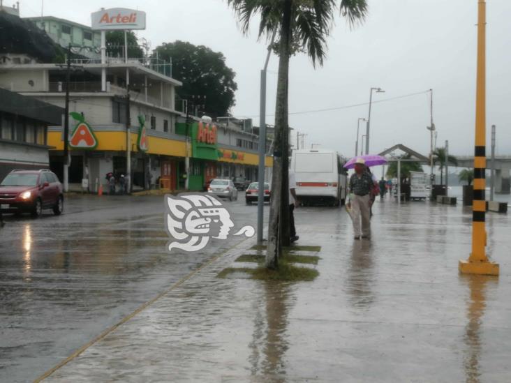 Frente Frío 4 dejó daños menores en Tuxpan