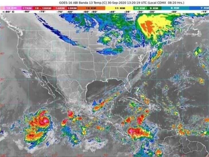 Frente Frío 4 provocará lluvias extraordinarias en el país