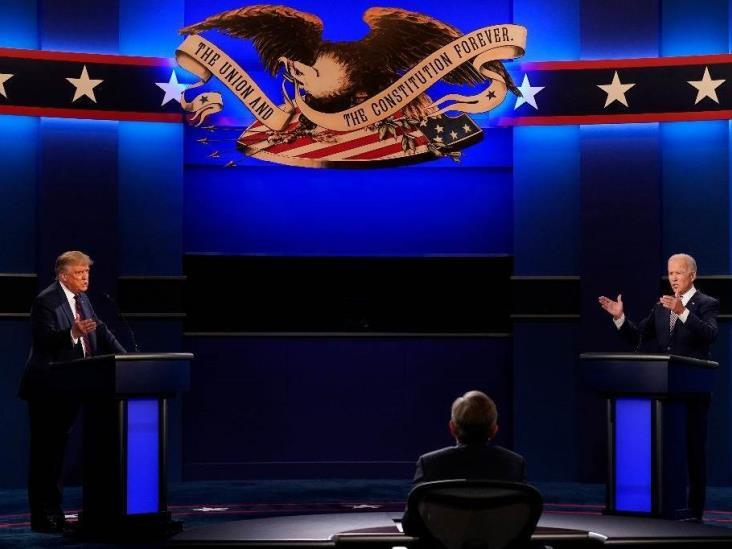 Gritos y mutuas acusaciones en primer debate entre Trump y Biden