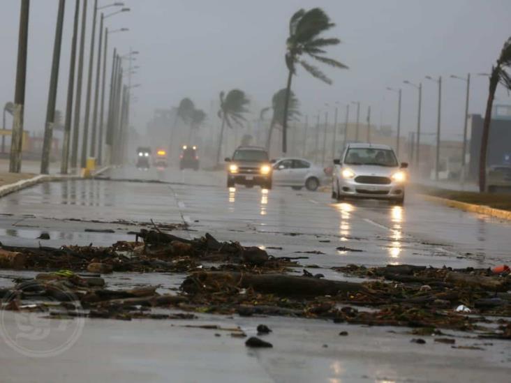 Continuarán lluvias y fuertes vientos en el sur de Veracruz