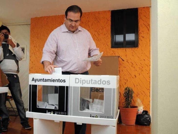 Libra Javier Duarte orden de captura por delitos electorales