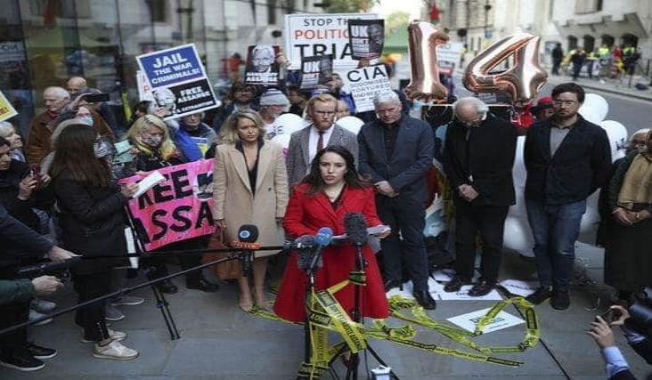 Justicia británica decidirá sobre extradición de Assange el 4 de enero