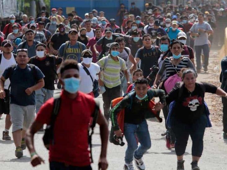 Caravana proveniente de Honduras ya no seguirá hacia EU