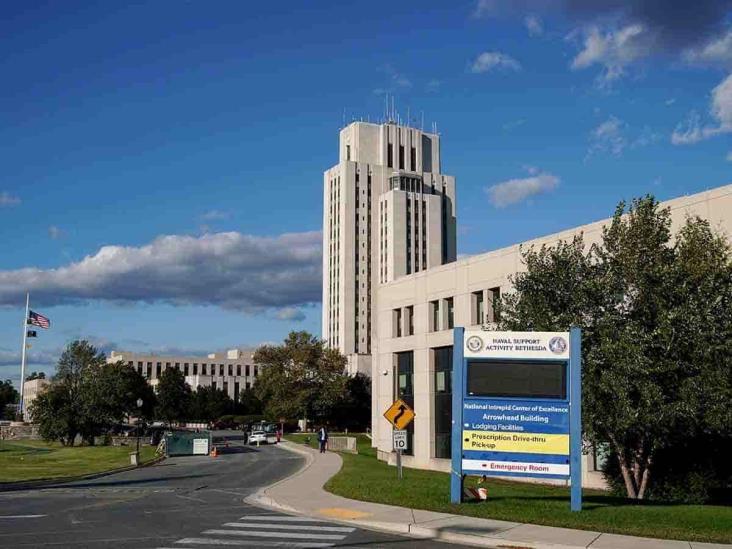 Así es el hospital donde estará Donald Trump por covid