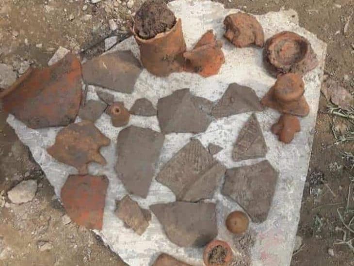 Campesinos de Ojapa del Palmar encuentran piezas arqueológicas