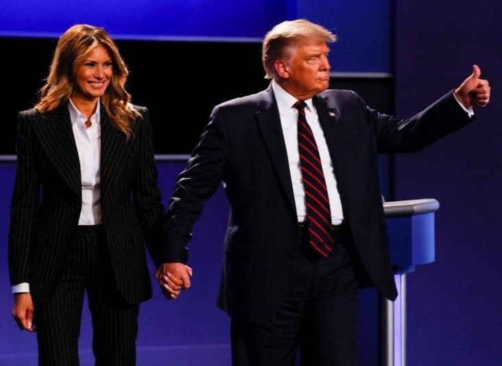 Donald Trump y su esposa dan positivo a prueba de COVID-19