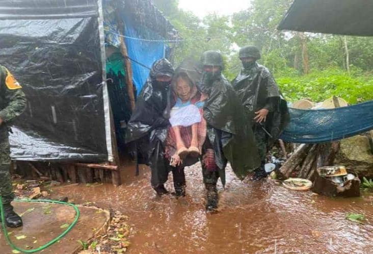 Gamma deja afectaciones en Yucatán; continúa alerta