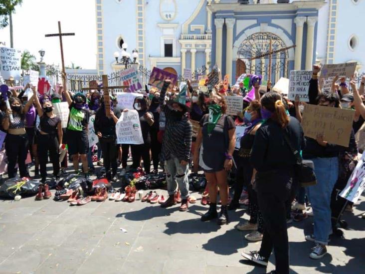 Nos roban amigas, nos matan hermanas, claman veracruzanas pro aborto