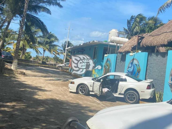 Asesinato en estacionamiento de conocido restaurante de Las Barrillas