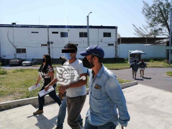 En Veracruz, elementos de la policía capturan a presunto violador
