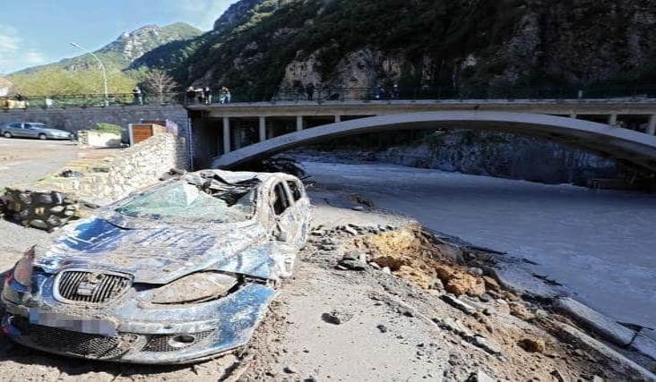 Suben a siete los muertos por inundaciones en Francia e Italia