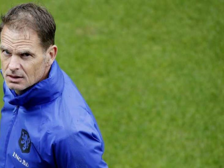 Frank de Boer, técnico de Holanda, preferiría no jugar ante México