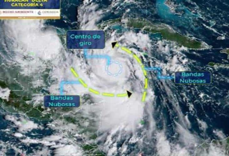 Saldo blanco tras paso de Delta en Quintana Roo y Yucatán
