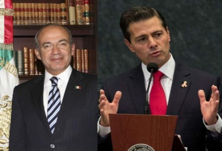 Calderón y Peña sí pueden ser investigados penalmente: UIF