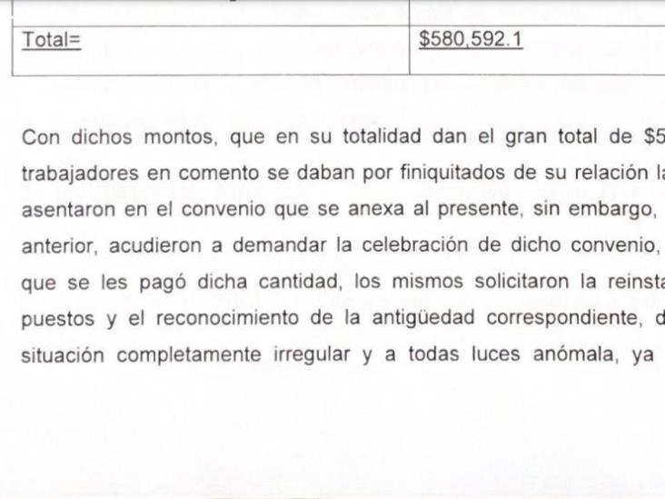 Fueron dos despidos por actos de corrupción: Bulmaro Salazar