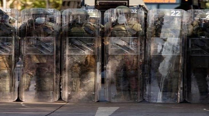 Condena Piñera represión de las protestas en Santiago