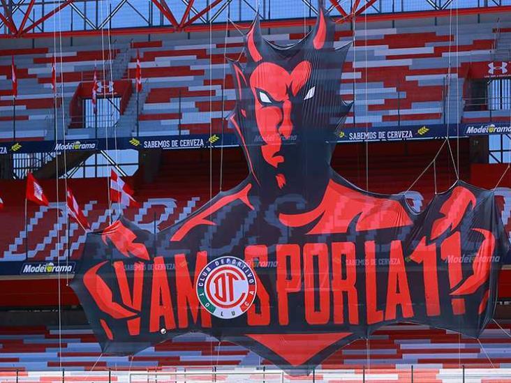 Toluca descartó regreso de afición a su estadio