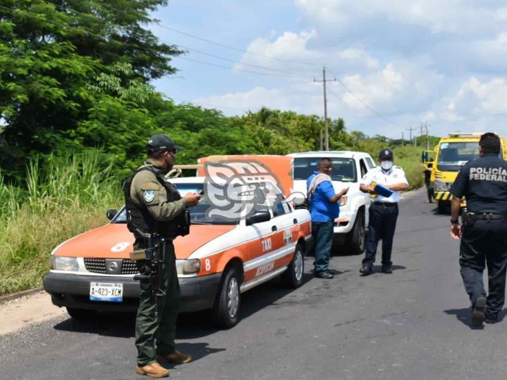 Choque en la Transístmica en Acayucan deja saldo de una lesionada