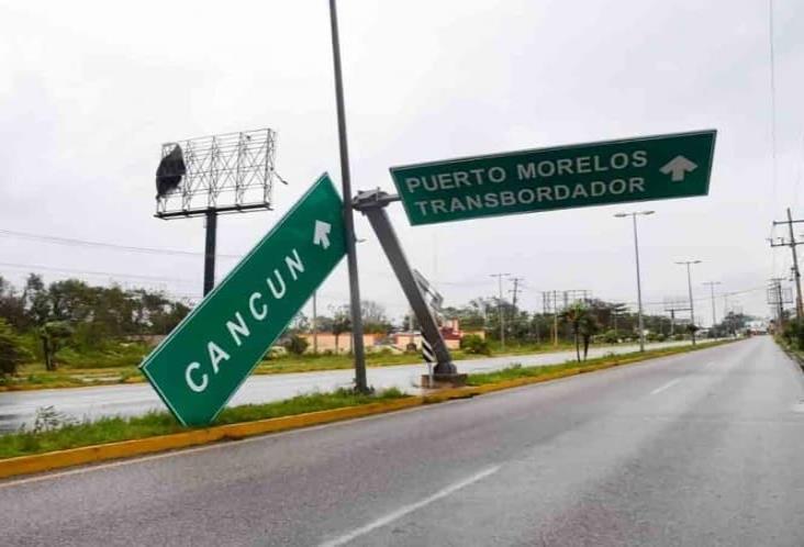 Saldo blanco en Quintana Roo tras el paso de Delta