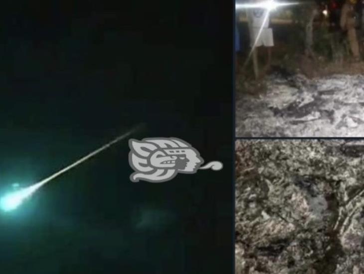 Cae meteorito en Tamaulipas, hubo avistamientos en otros estados