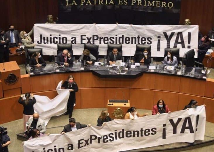 Senado aprueba la consulta sobre juicio a expresidentes