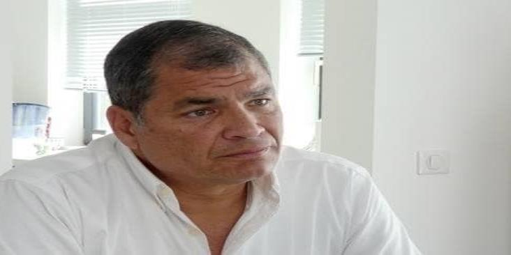 Justicia ecuatoriana pide a Interpol detener Rafael Correa