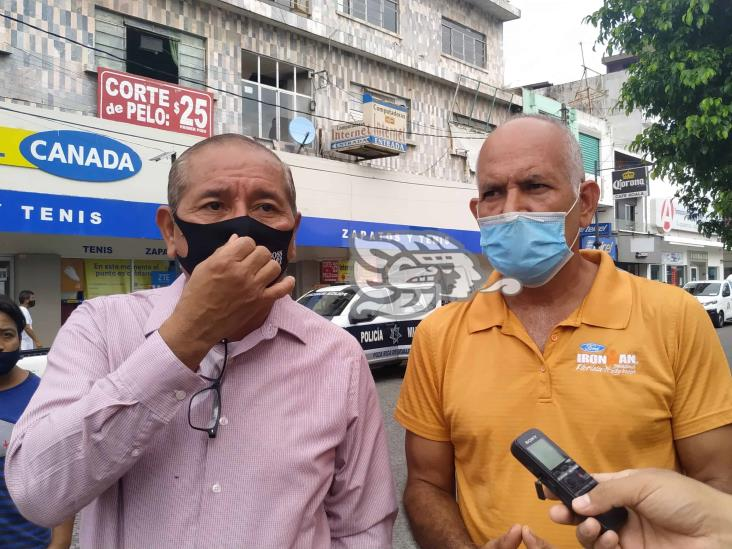 En Poza Rica ´desaparecieron´ apoyos por pandemia, acusan vendedores