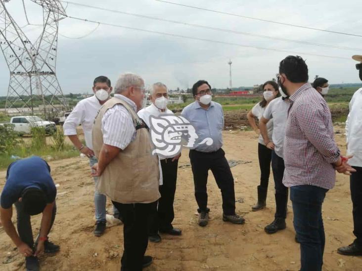 Subsecretario de Semarnat recorrió el basurero de Las Matas