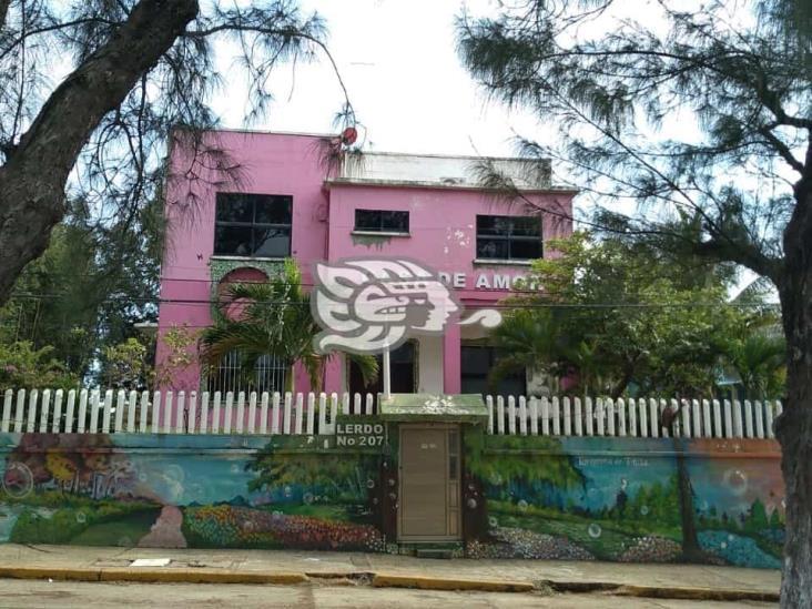 Robo y actos vandálicos en Casa de Amor en Coatzacoalcos