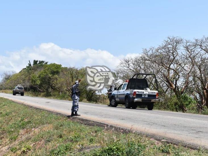 Roban camioneta con 4 toneladas de harina en Acayucan