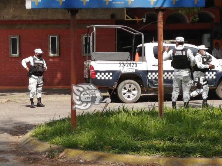 Hieren con arma blanca a empleados de la CFE en Cosoleacaque