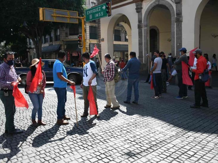 Desde Xalapa, amagan Antorchistas con protestas en Ciudad de México