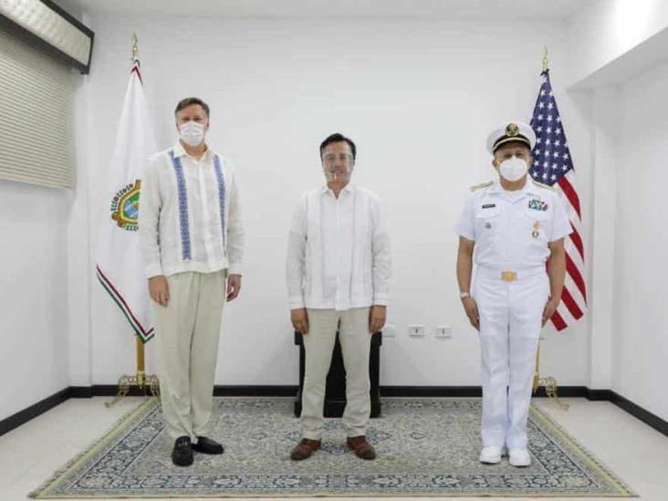 Estrechan lazos de cooperación Gobierno de Veracruz y Embajada de Estados Unidos