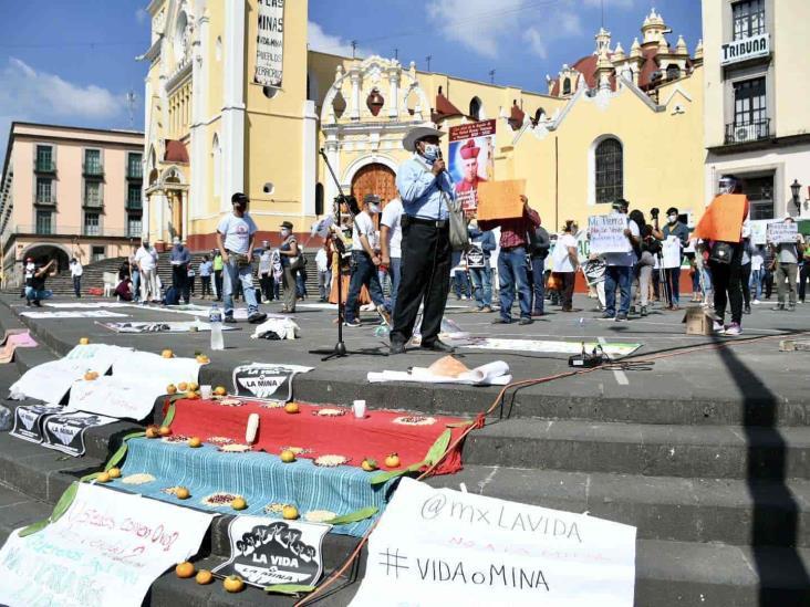 Iglesia bendice la resistencia contra mineras en Veracruz