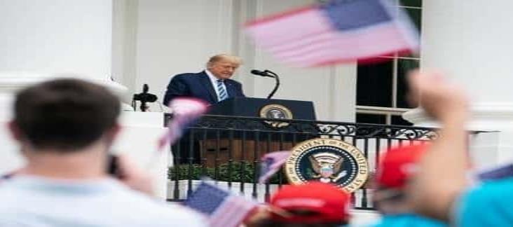 A 9 días de dar positivo a Covid-19, Trump relanza su campaña en EU