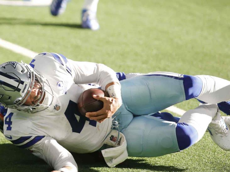 Cowboys: Dak Prescott sufre una grave fractura de tobillo
