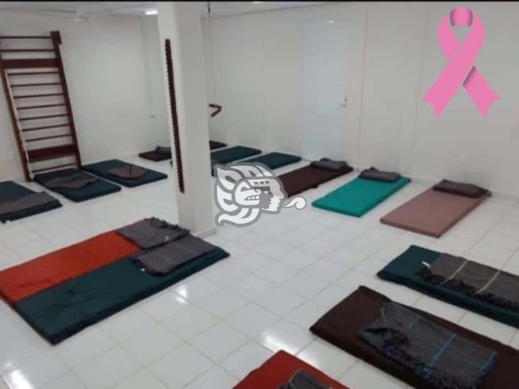 Habilitan un albergue en Minatitlán ante temporada de huracanes