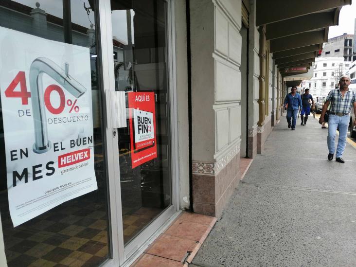 Comercios se preparan para el Buen Fin en Tuxpan