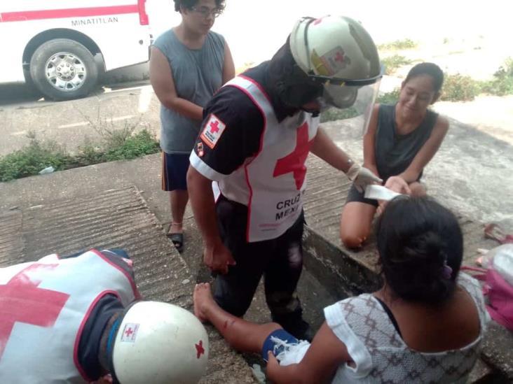 Perro atacó a una mujer y a su hijo en Minatitlán