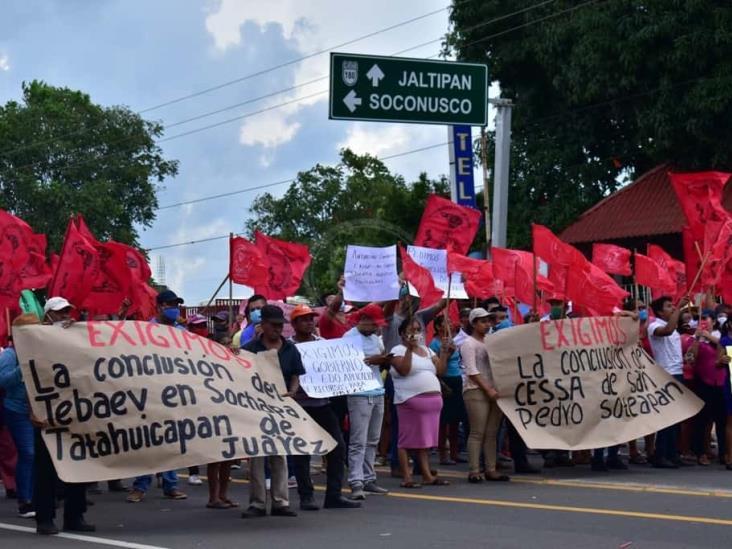 Exigen que concluyan obras en zona serrana del sur de Veracruz