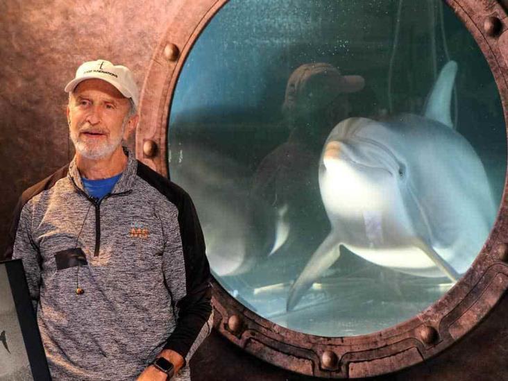 Delfín robot quiere salvar del cautiverio a los de verdad