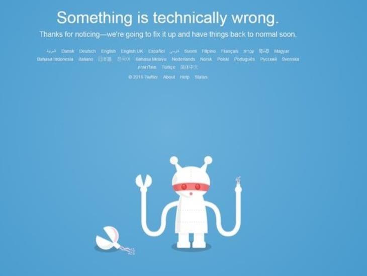 Twitter se cayó a nivel mundial, usuarios reportan fallas